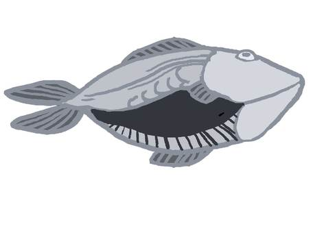 Fish open