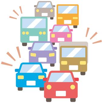 Traffic jam-01