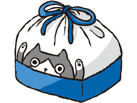 Bento bag (blue)