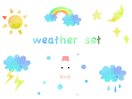 Weather set ver 01