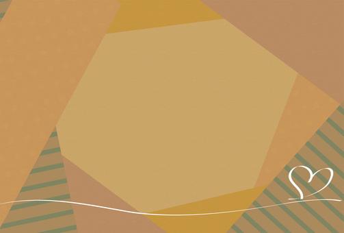 Card overlap Sepia