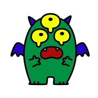Sorrowful monster