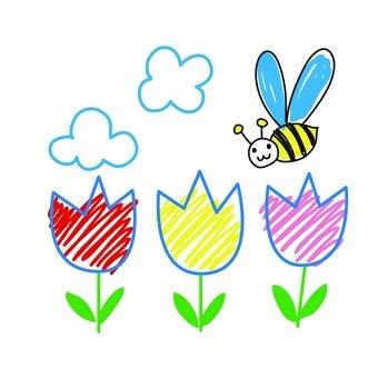 꽃과 꿀벌