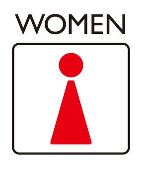 Toilet mark_woman