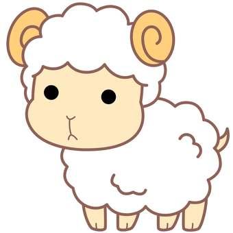Animal Illustrations-Sheep