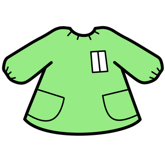 Play clothes green