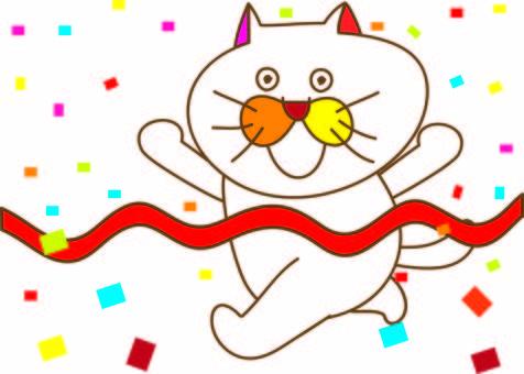 Amusing cat Tachiko and goal 2