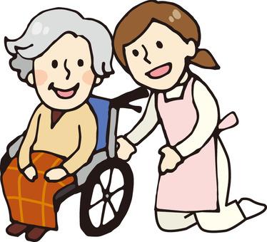 Nursing care (wheelchair 2)