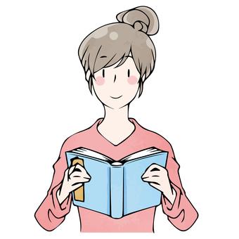 讀取年輕女子的秋天