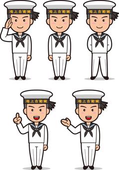 SDF 5 (Maritime Self Defense Forces · Sailor)