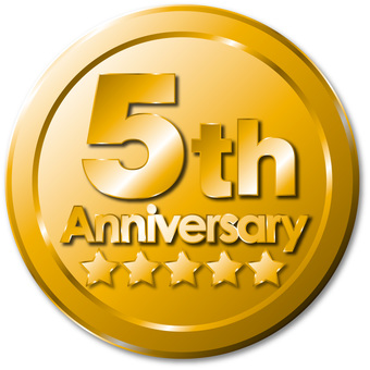 5th Anniversary Medal