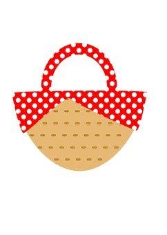 Round bag (red)