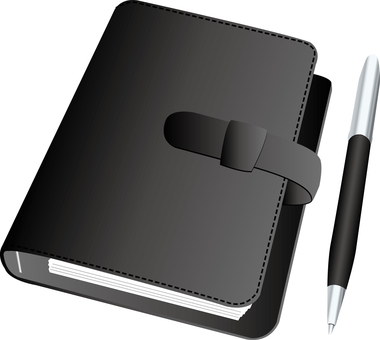 System notebook and pen
