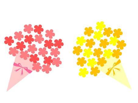 Bouquet (Orange & amp; Pink)
