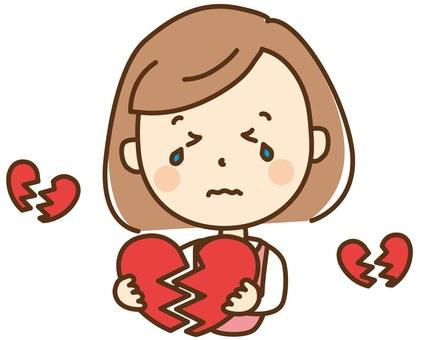 Women (broken heart)