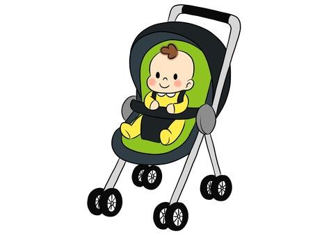 Baby stroller boys