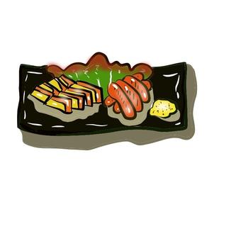 Smoked platter