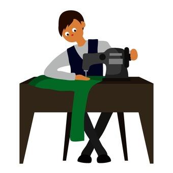 A dressmaker
