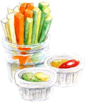 Vegetable stick