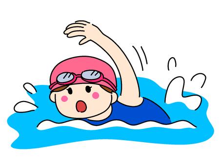 Swim [girl]
