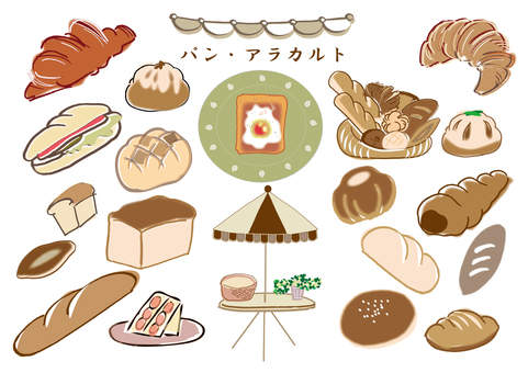 Bread à la carte