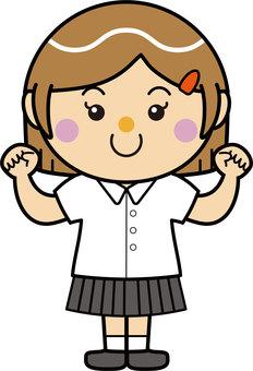 Student 06_03 (Women / Guts pose)