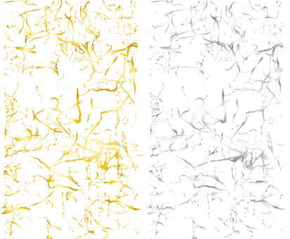 Gold and silver washi paper