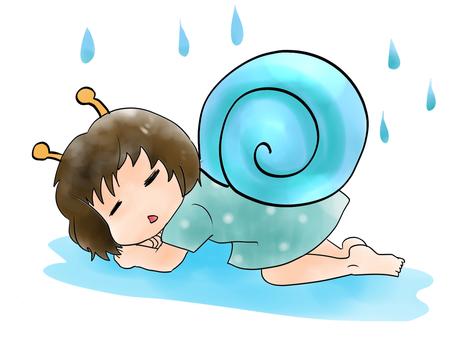 Body heavy snail