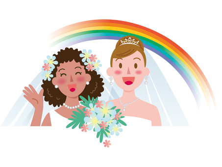 Marriage between women-Rainbow 4