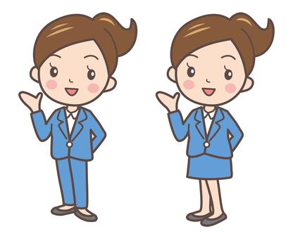 Business women pose 2-2