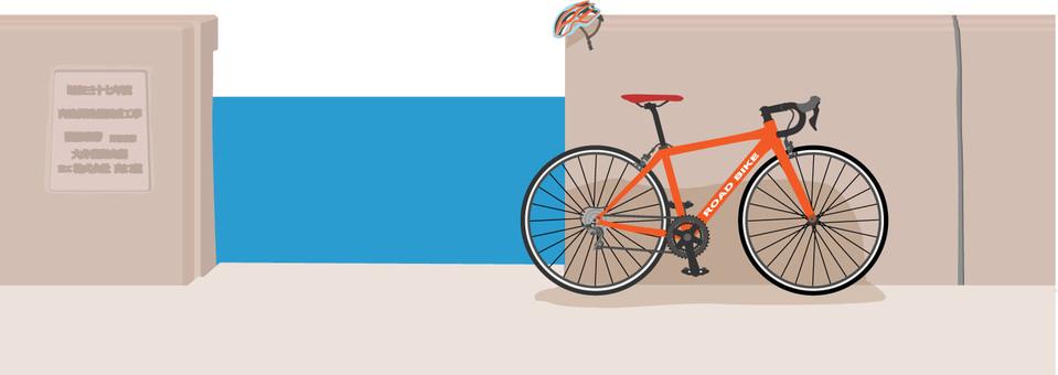 Embankment and road bike 4