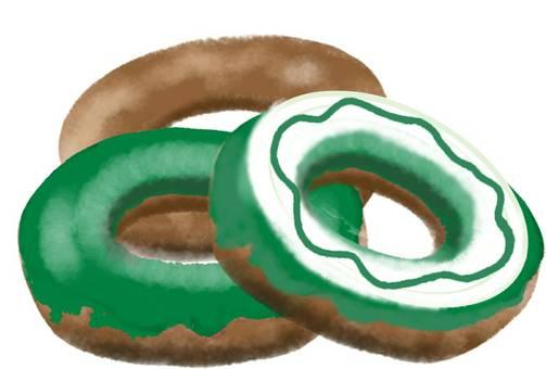 녹차 도넛 세트 아소토