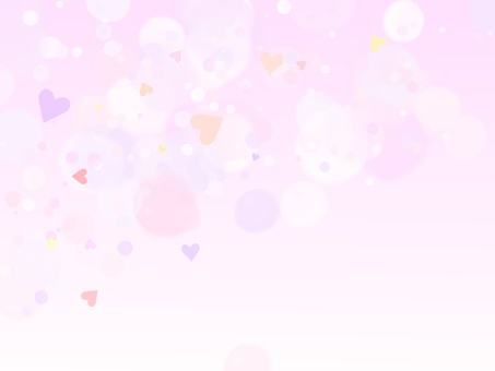 Cute heart background