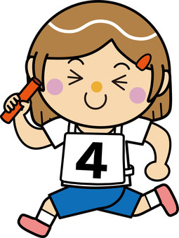 Girl 16_10 (running · baton relay)