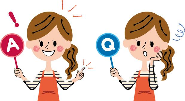 Q & A Apron Ladies