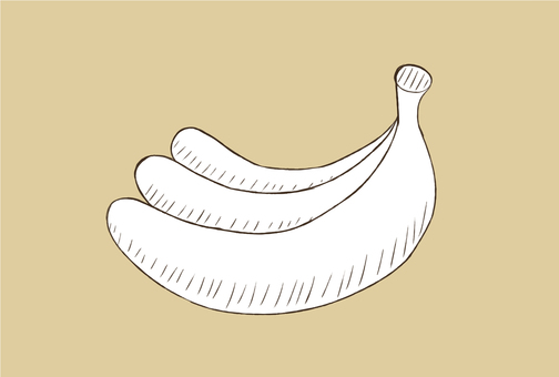 Handwritten banana