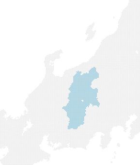 Dot map Nagano 1