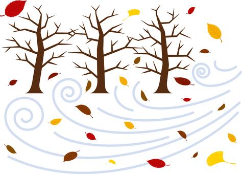 Wintering winter Late autumn wind winter general