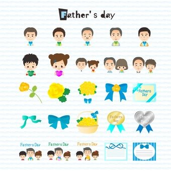 Illustration of Father's Day