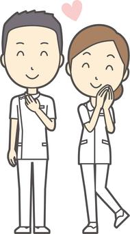 男女セット看護師-024-全身