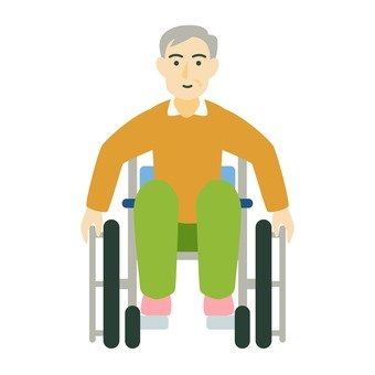 Wheelchair and grandfather (2)