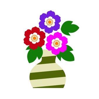 Flower in a vase 1