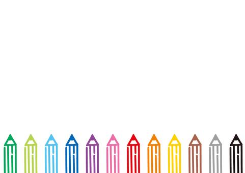 Color pencil frame 03
