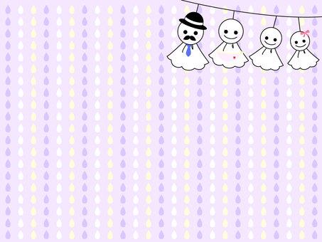 Tarutaru Shuttle Family - Background Purple