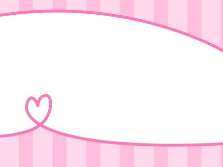 [Frame] Heart [frame decoration]