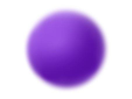 球(深紫色)