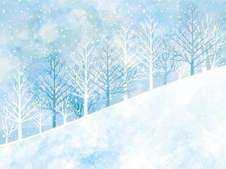 Illustration ski resort snow landscape snow mountain winter landscape wallpaper background