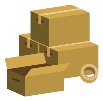 Moving cardboard