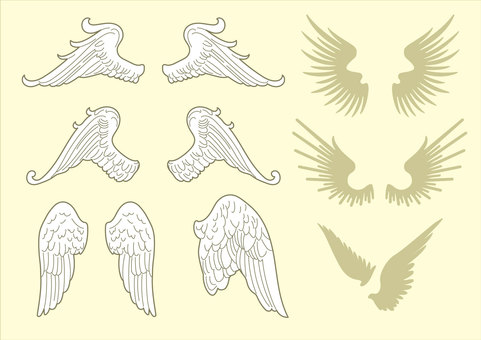 Wing ornament 01