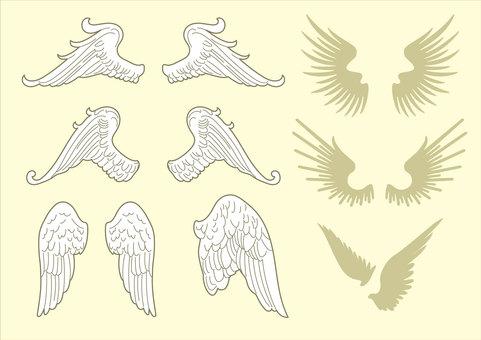 翼オーナメント01